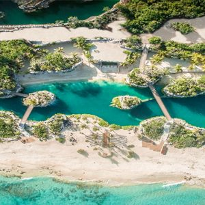 Mexico Honeymoon Packages Hotel Xcaret Resort Aerial View1