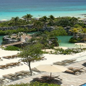 Mexico Honeymoon Packages Hotel Xcaret Resort Beach1