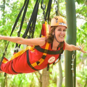 Mexico Honeymoon Packages Hotel Xcaret Resort Fun Activities Ziplining