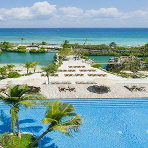 Mexico Honeymoon Packages Hotel Xcaret Resort Suite Ocean Front Adultos