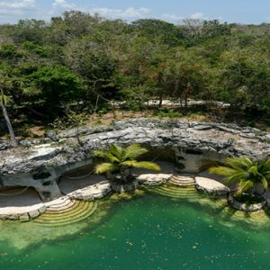 Mexico Honeymoon Packages Hotel Xcaret Resort Aerial View Of River