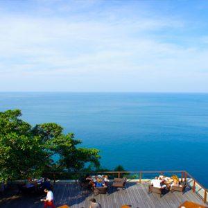 Thailand Honeymoon Packages Paresa Resort Phuket Alfresco Dining