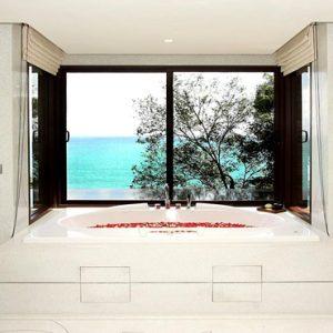Thailand Honeymoon Packages Paresa Resort Phuket Bath With A View