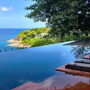 Thailand Honeymoon Packages Paresa Resort Phuket Infinity Pool View