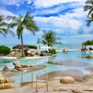 Thailand Honeymoon Packages Sheraton Samui Resort Beachfront Access