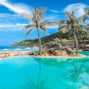 Thailand Honeymoon Packages Sheraton Samui Resort Beachfront Pool