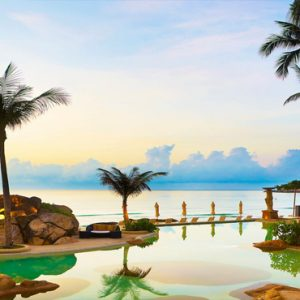 Thailand Honeymoon Packages Sheraton Samui Resort Beachfront Pool1