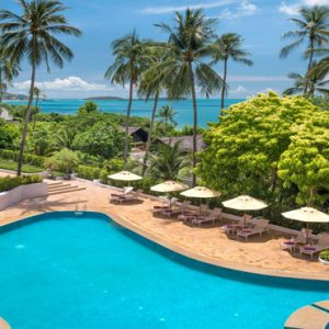 Thailand Honeymoon Packages Sheraton Samui Resort Garden Pool