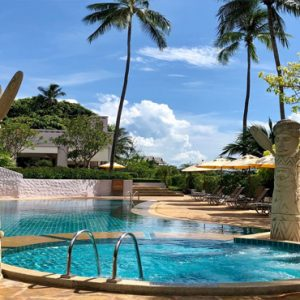 Thailand Honeymoon Packages Sheraton Samui Resort Garden Pool1