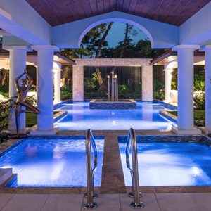 Barbados Honeymoon Packages Sandals Royal Barbados Pool At Night2