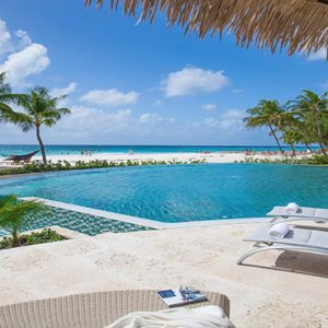 Barbados Honeymoon Packages Sandals Royal Barbados Sun Loungers By The Pool