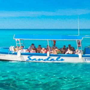 Barbados Honeymoon Packages Sandals Royal Barbados Watersports Glass Bottom Boat