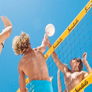Barbados Honeymoon Packages Sandals Royal Barbados Landsports Volleyball