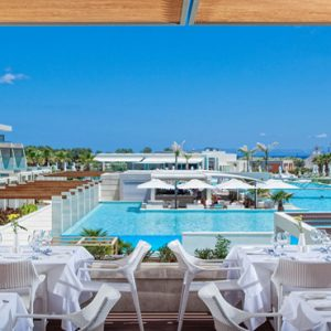 Greece Honeymoon Packages Avra Imperial Basilico Restaurant