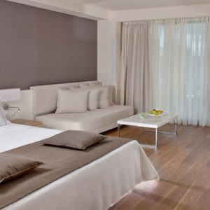 Greece Honeymoon Packages Avra Imperial Deluxe Room With Pool View Bedroom1