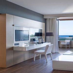 Greece Honeymoon Packages Avra Imperial Deluxe Suite Bedroom