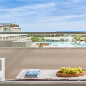 Greece Honeymoon Packages Avra Imperial Executive Suite Balcony View