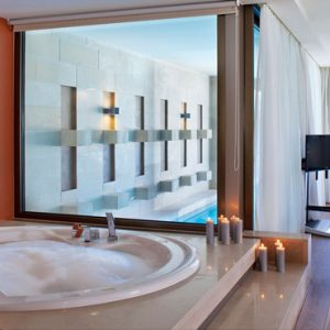 Greece Honeymoon Packages Avra Imperial Executive Suite With Private Pool Bathtub And Pool