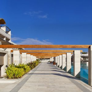 Greece Honeymoon Packages Avra Imperial Glass Pool1