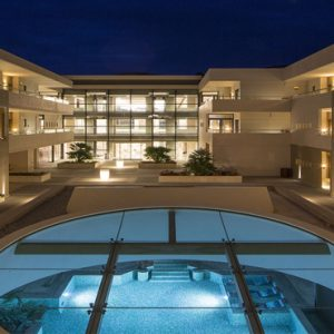 Greece Honeymoon Packages Avra Imperial Hotel Exterior At Night