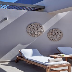 Greece Honeymoon Packages Avra Imperial Imperial Suite Outdoors Day Bed