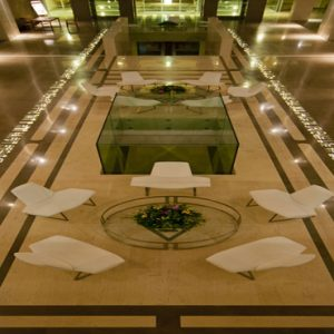 Greece Honeymoon Packages Avra Imperial Lobby At Night