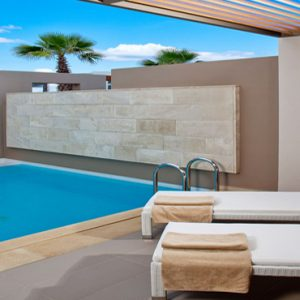 Greece Honeymoon Packages Avra Imperial Superior Room With Private Pool Outdoor Pool