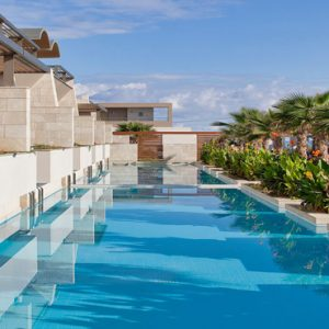 Greece Honeymoon Packages Avra Imperial Villa Shared Pool1