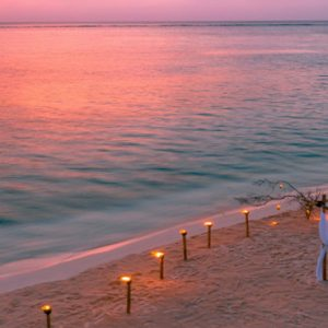 Maldives Honeymoon Packages You And Me Cocoon Maldives Private Dining On Beach