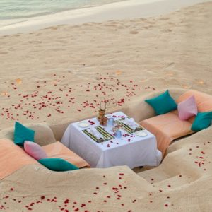 Maldives Honeymoon Packages You And Me Cocoon Maldives Private Dining On Beach1