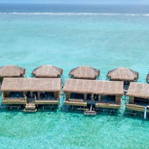 Maldives Honeymoon Packages You And Me Cocoon Maldives Aerial View Of Overwater Villa