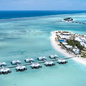 Maldives Honeymoon Packages Hotel Riu Atoll Maldives Aerial View
