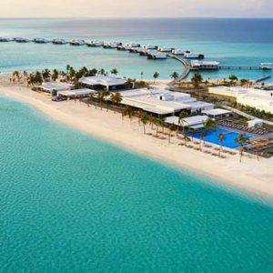 Maldives Honeymoon Packages Hotel Riu Atoll Maldives Aerial View2