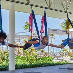 Maldives Honeymoon Packages Hotel Riu Atoll Maldives Aerial Yoga