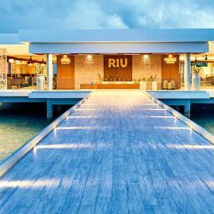 Maldives Honeymoon Packages Hotel Riu Atoll Maldives Hotel Exterior At Night