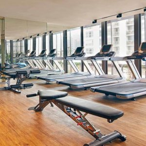Singapore Honeymoon Packages Oasia Hotel Downtown 24 Hr Gym