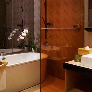 Singapore Honeymoon Packages Oasia Hotel Downtown Club Room Bathroom