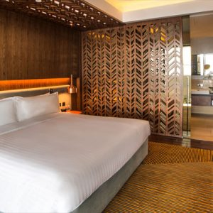 Singapore Honeymoon Packages Oasia Hotel Downtown Club Suite Bedroom