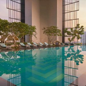 Singapore Honeymoon Packages Oasia Hotel Downtown Infinity Pool