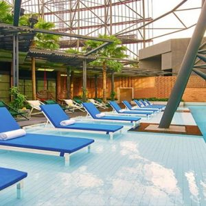 Singapore Honeymoon Packages Oasia Hotel Downtown Rooftop Pools
