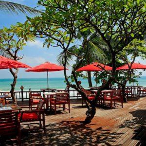 Thailand Honeymoon Packages Centara Grand Beach Resort Samui Al Fresco Dining