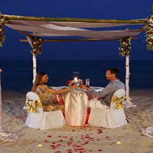 Thailand Honeymoon Packages Centara Grand Beach Resort Samui Private Dining Experience