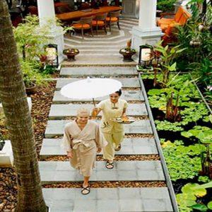 Thailand Honeymoon Packages Centara Grand Beach Resort Samui SPA Cenvaree Walkway