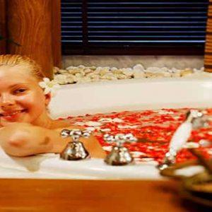Thailand Honeymoon Packages Centara Grand Beach Resort Samui Spa Bath