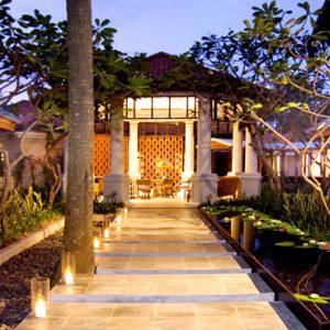 Thailand Honeymoon Packages Centara Grand Beach Resort Samui Spa Entrance