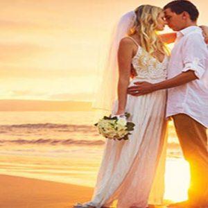 Thailand Honeymoon Packages Centara Grand Beach Resort Samui Wedding Beach Couple