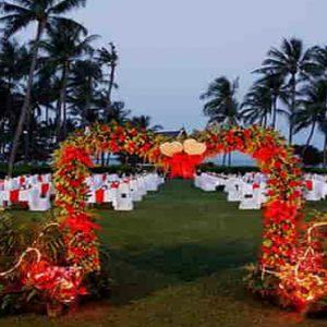 Thailand Honeymoon Packages Centara Grand Beach Resort Samui Wedding Setup2