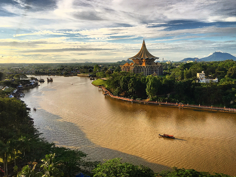 Romantic Things To Do In Borneo Malaysia Honeymoon Packages Sarawak River