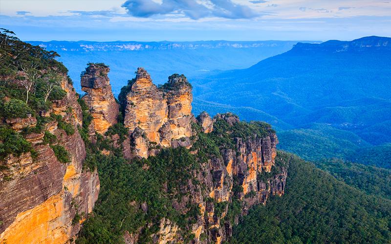 Australia's Most Romantic Honeymoon Destinations Blue Mountains