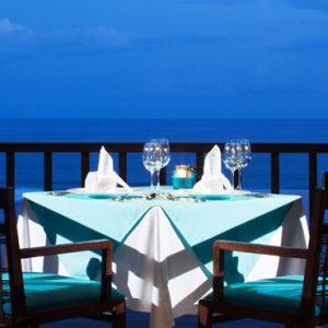 Bali Honeymoon Packages Samabe Bali Villas And Suites Crystal Blue Ocean Grill